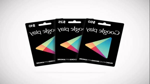 Tarjetas de google play gratis pc