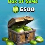 caisse de 6500 gemmes clash of clan
