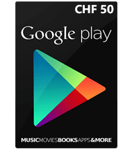 carte cadeau google play suisse 50 chf