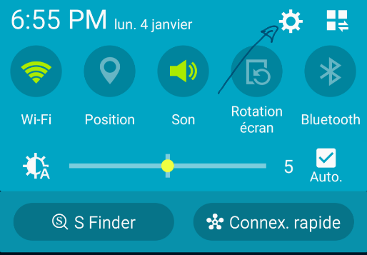 ouvrir compte google sur Android