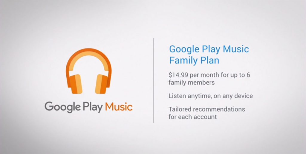 google play music famille